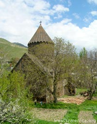 Church of Holy Virgin in Bjni
