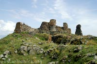Ancient Fortress near Hayravank village (II-I Milleniums B.C.)